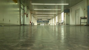 The old Eastern European hallway.