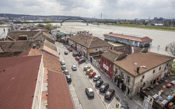 The uncertain future of Belgrade's creative district