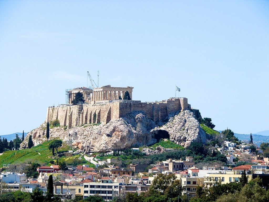 The Akropolis in Athens: symbol of the birth of democracy and academia