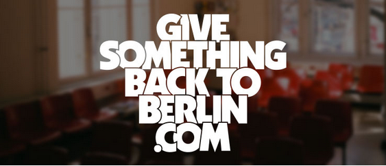 Give Something Back To Berlin: Tackling the expat divide