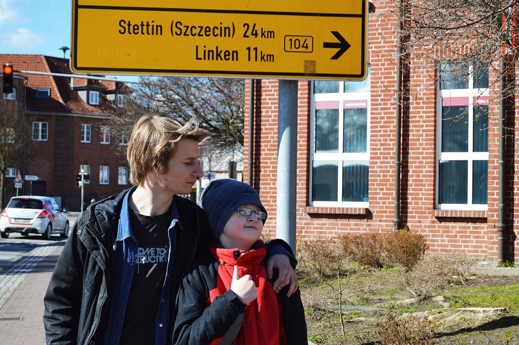 The German city of Löcknitz has a unique location. It is the nearest German village to the biggest city on the western Polish border, Szczeczin.