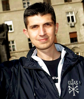 Mladen Obradović who was sentenced to jail for the threats he expressed against LGTB-activists
