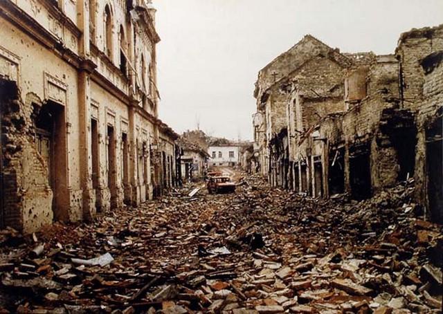 Vukovar in November 1991