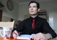 Young Ukrainians seek refuge abroad