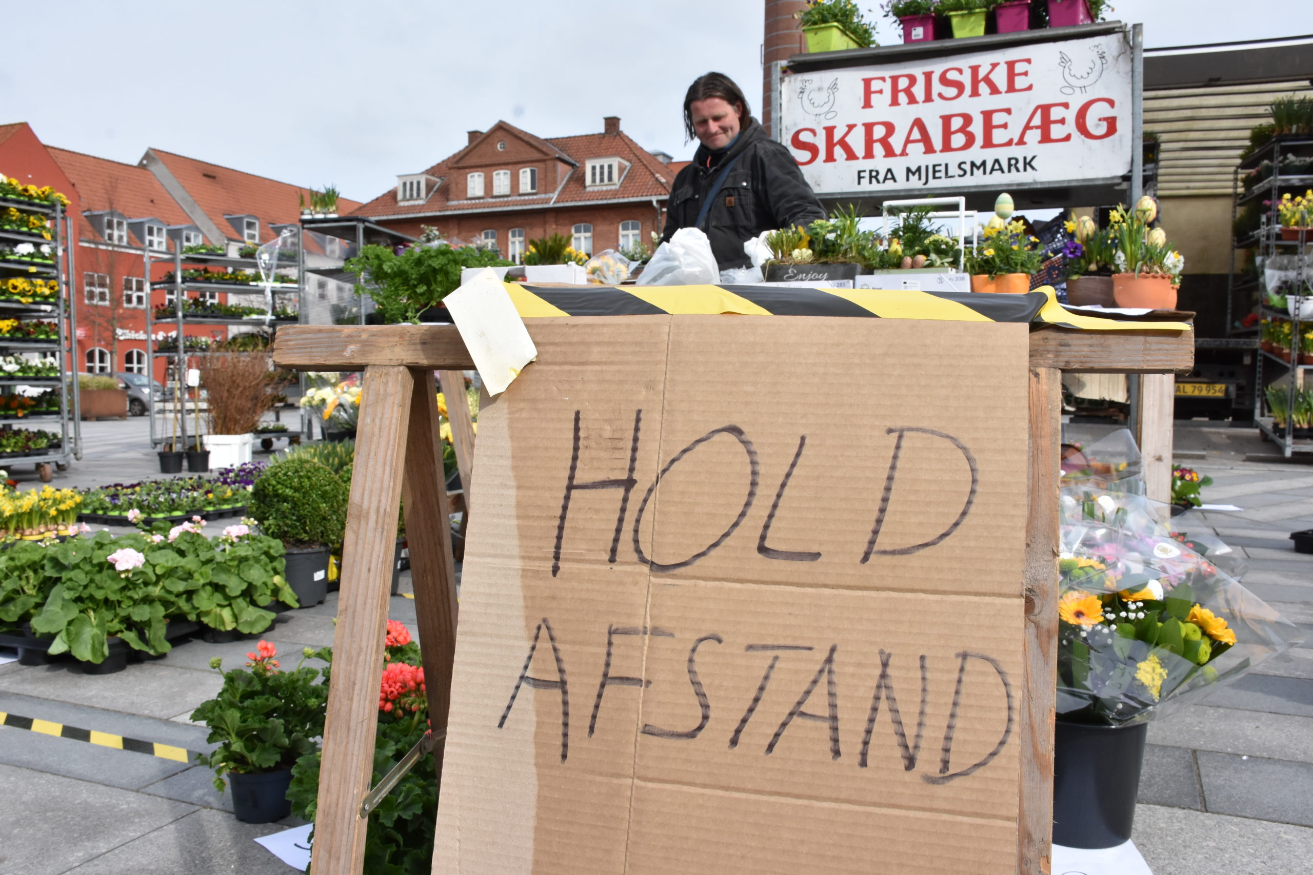 ''This is our livelihood'': A small market fights to survive the lockdown